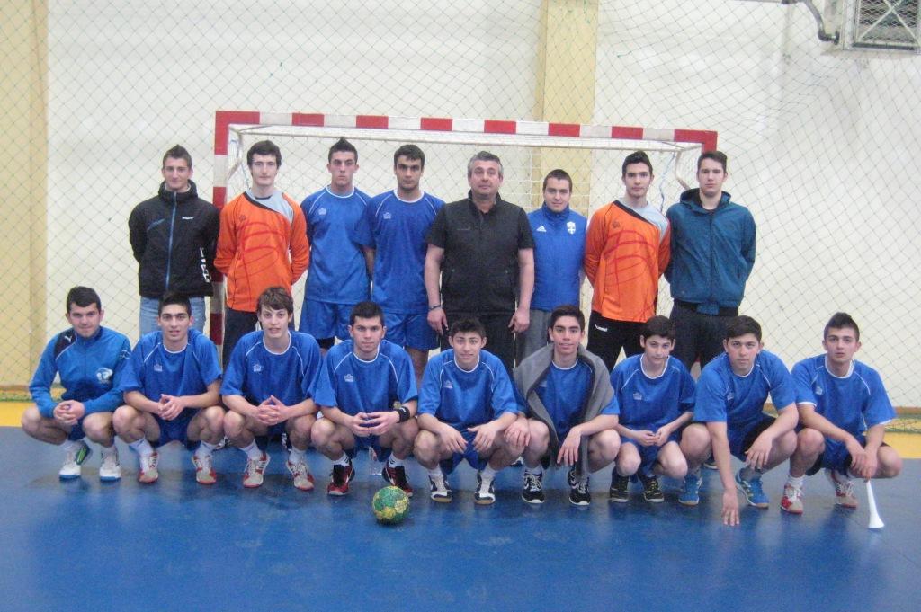 Την Τρίτη 9 Απριλίου 2013 διεξήχθη στη Βέροια, ο αγώνας Χειροσφαίρισης μαθητών Λυκείων Β΄ Φάσης του 5ου Ομίλου