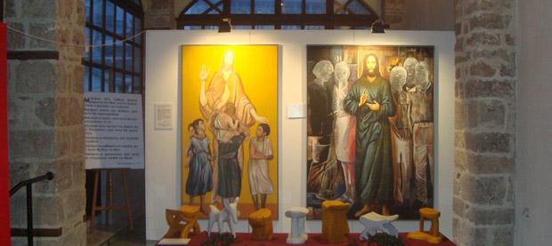Εντυπωσιακή η έκθεση του Ε. Βαρλάμη «Ο Χριστός στην Ελλάδα σήμερα»